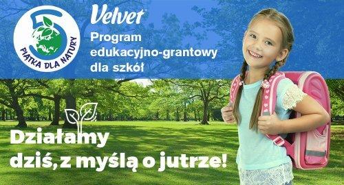 Piątka dla natury – rusza program edukacyjno grantowy marki Velvet